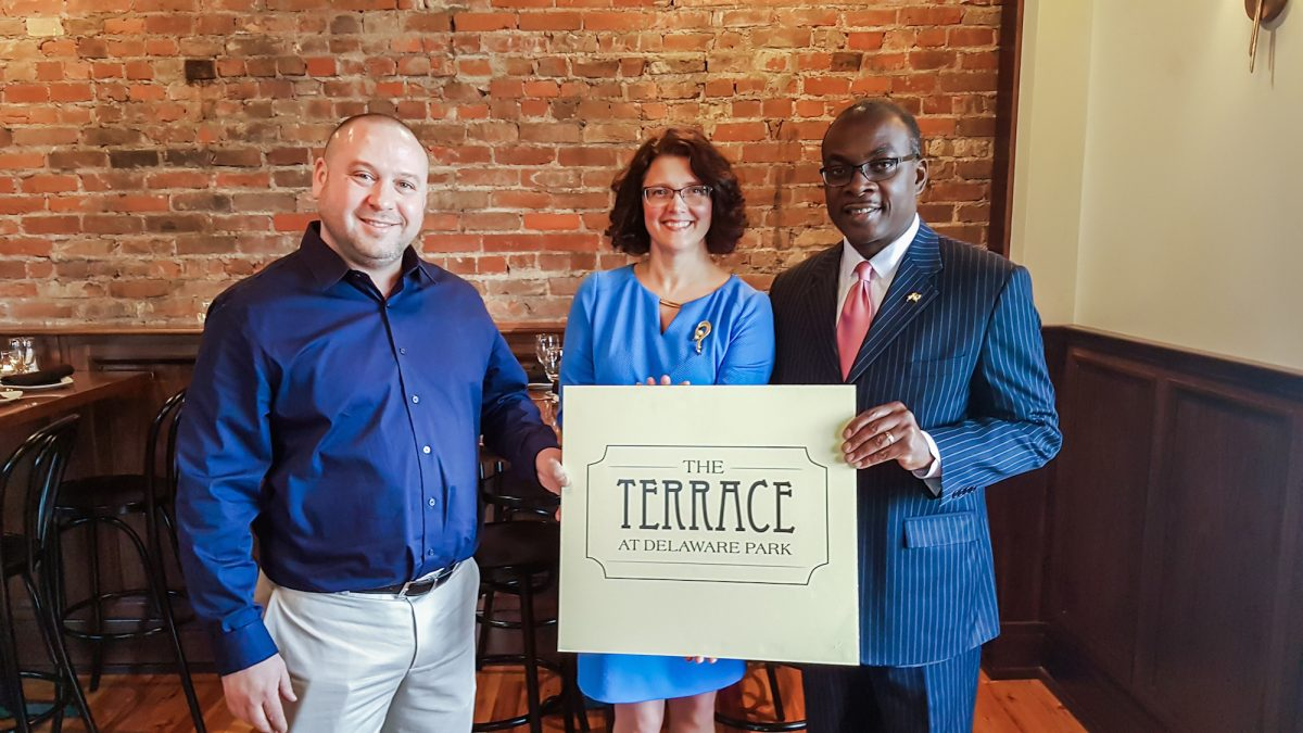 The Terrace Press Conference_Jason Davidson.Stephanie Crockatt.Mayor Brown_3